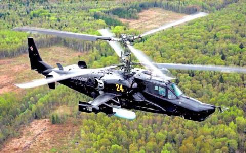 Ударный вертолет Ка-50 «Черн…