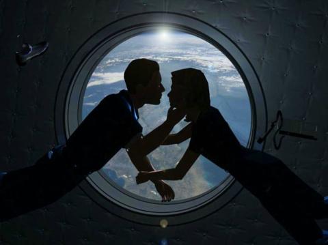Секс в космосе был