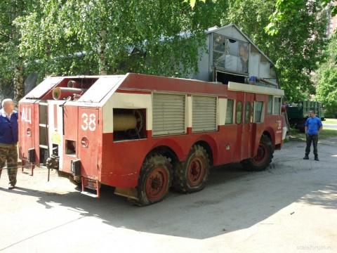 Советско-французский пожарны…