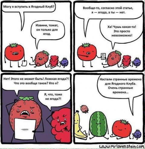 Времена для ягодного клуба