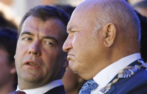 Лужков назвал отказ поддержать второй срок Медведева причиной отставки