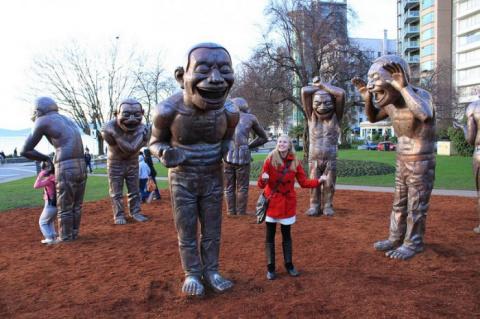 Лабиринт смеха в Ванкувере