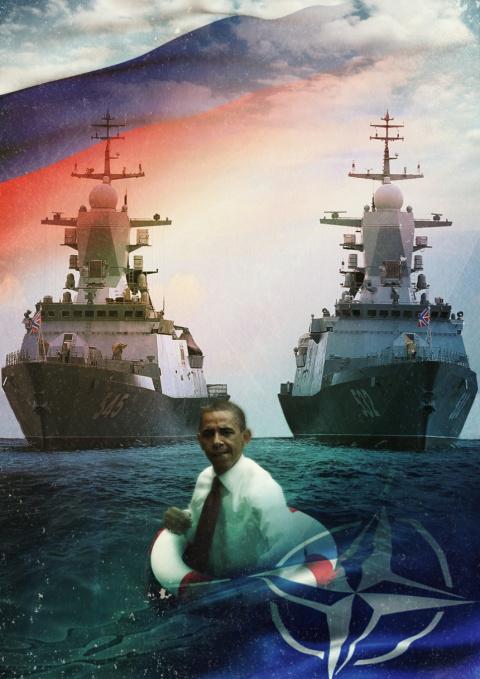 Корветы «Бойкий» и «Стойкий» «послали» НАТО на Х-35