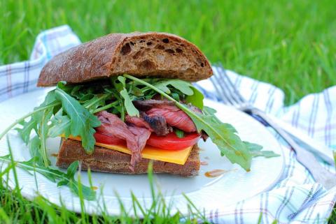 Нескучные сэндвичи для пикника