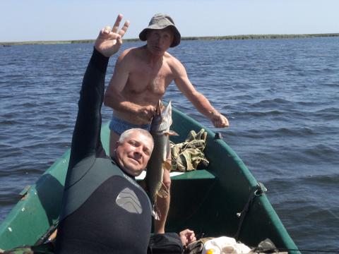 Трофей!  Рыбалка в раскатах 08. 2012г