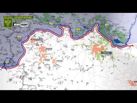 ЛНР: карта обстрелов со стороны ВСУ. 29 июня 2017