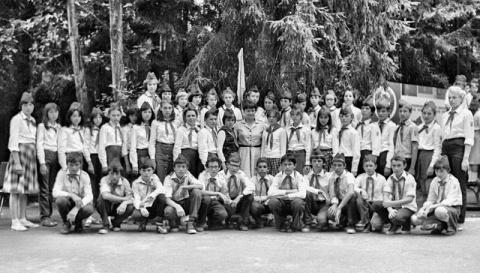 1983 2 отряд и Савицкая