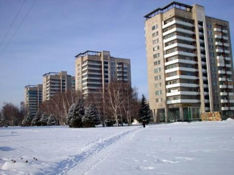 Площадь Ленина (зимой)