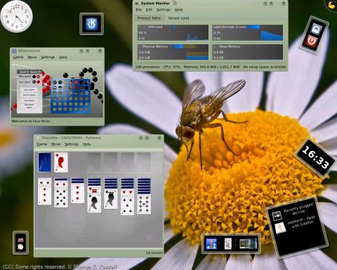 KDE 4.0.0 ещё