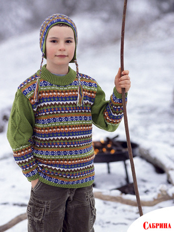 Вязание спицами шерстинка