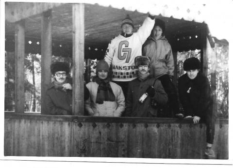 зима 1990