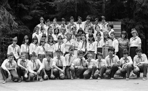 1983 1 отряд и Савицкая космонавт