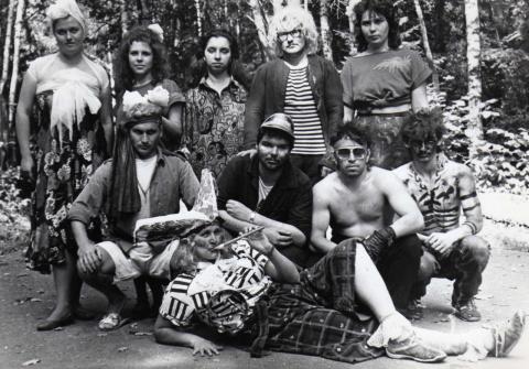 1989 Вожатые в день Самоуправления.