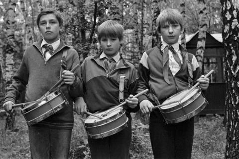 1990 барабанщики