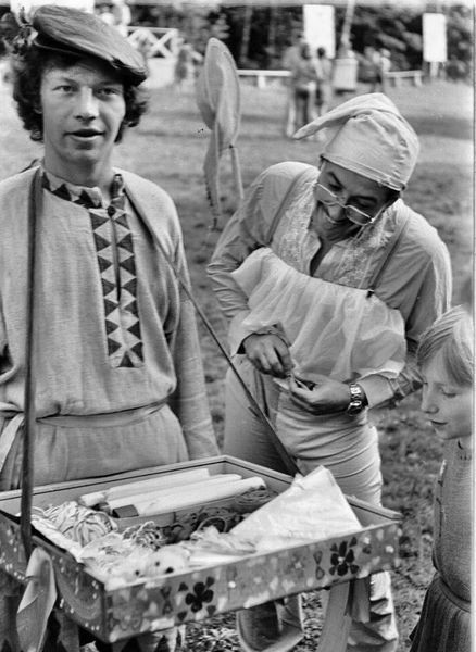 1978 Юра Куликов коробейник, Валера Данилов, Марина Лебедева