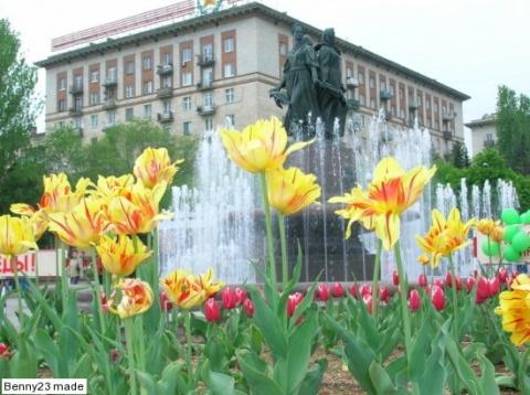 Весна в Волгограде