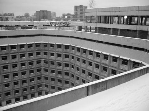 Фото места Ховринская заброшенная больница