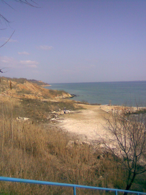 """""""Дикий"""" пляж..."""