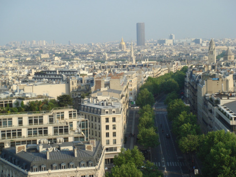 Фото места Париж, город любви