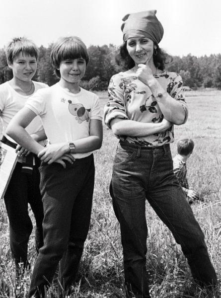 1988 июль Капа и Миша Морозовы :)