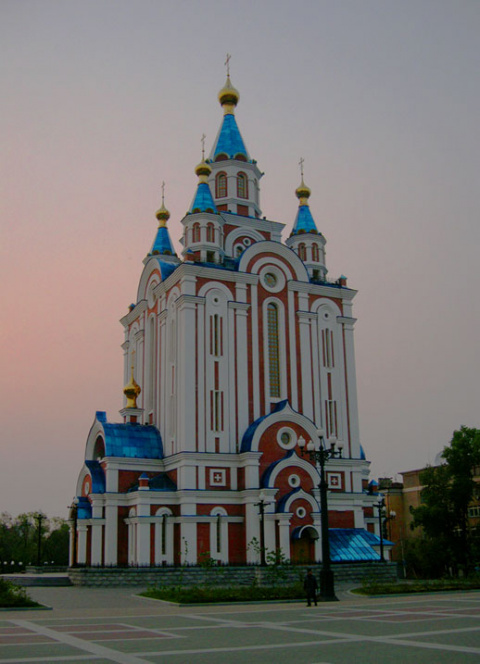 Собор в Хабаровске
