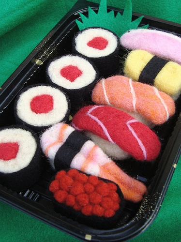 Валяные суши (автора не знаю)