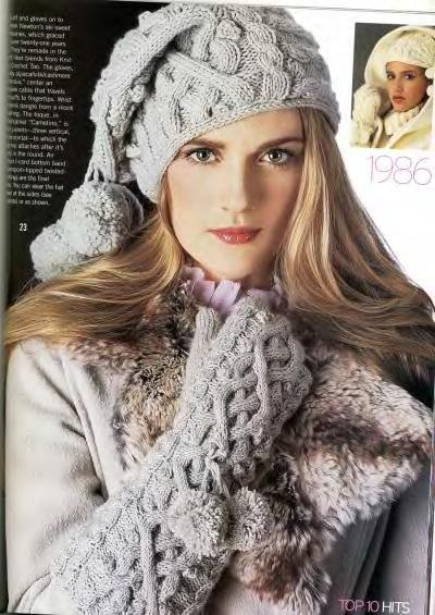 Описание вязания спицами пуловера женского