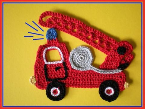 картинку пожарная машина