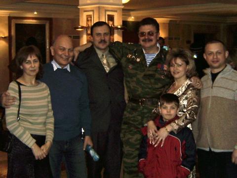 С Юрой Слатовым, после концерта