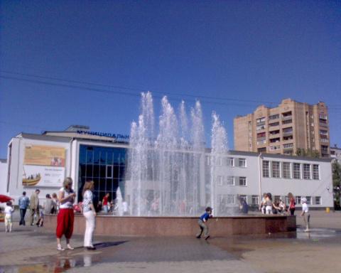 Знаменитый фонтан