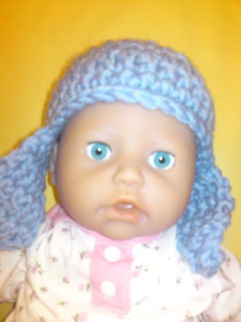 Шапочка для куклы.
