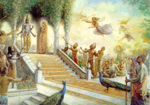духовный мир Ваинкунтхи