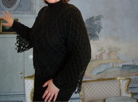 Кофта, блуза макраме