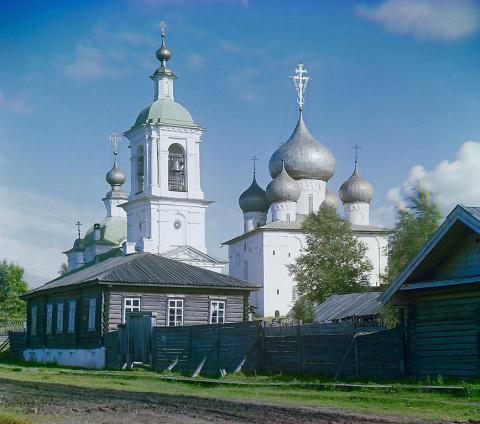 Церковь во имя Успения Божией Матери. Белозерск. 1909 г.