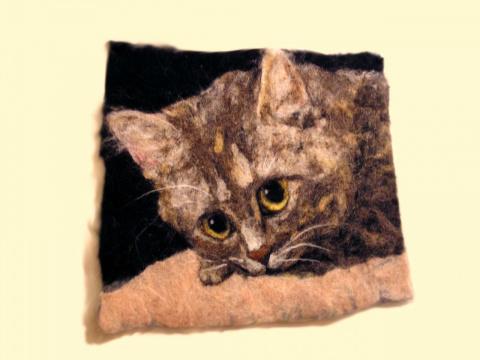 "Панно ""портрет Кошки"""