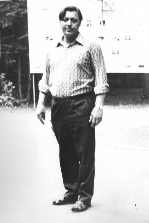 Начальник лагеря Буряков. Наверное 1976 год.