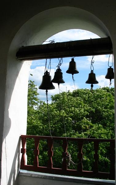 Вид с колокольни Стефановской церкви