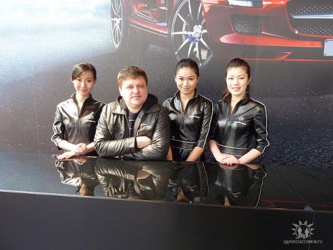 Хорист - Игорь Кульков, КНР Шанхай 2010 год.
