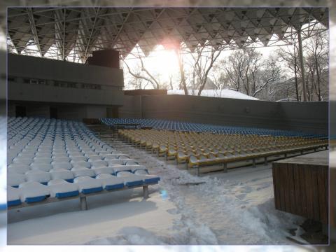 В зимнем парке концерт!)))