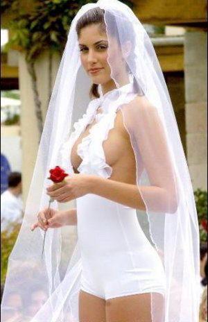 невеста в шикарном наряде
