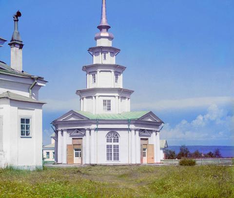 Петрозаводск. Часовня, построенная Петром I. 1915 г.