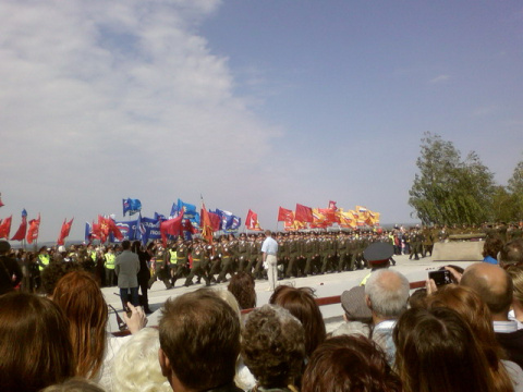 Волжский. 9 мая.Парад