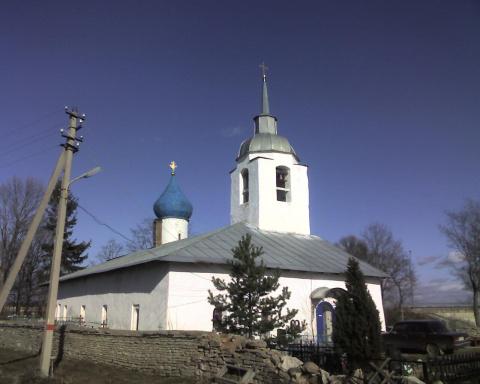 храм Петра и Павла в Пскове