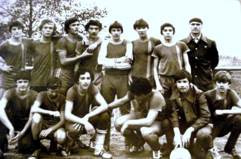 Сборная школы по футболу