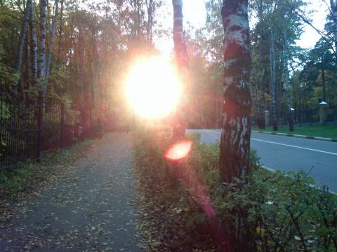 Закат в Красногорске