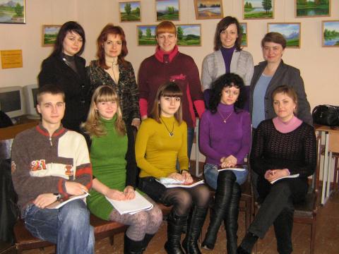 Второй модуль 4 группы базового курса, апрель 2010