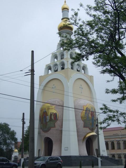 Храм на Станции Большого фонтана в Одессе (названия не знаю)