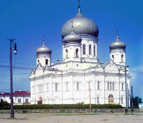 Собор в Петрозаводске. 1915 г.