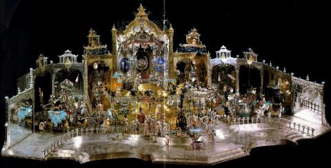 «Дворцовый приём в Дели в день рождения Великого могола Ауренг Зеба»    (Двор великого Могола)