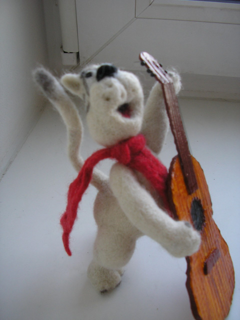 Кот который умел петь